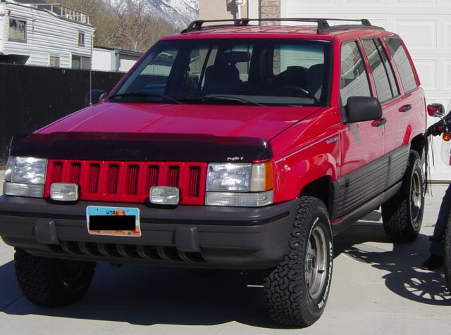 1993 Jeep WJ with lift